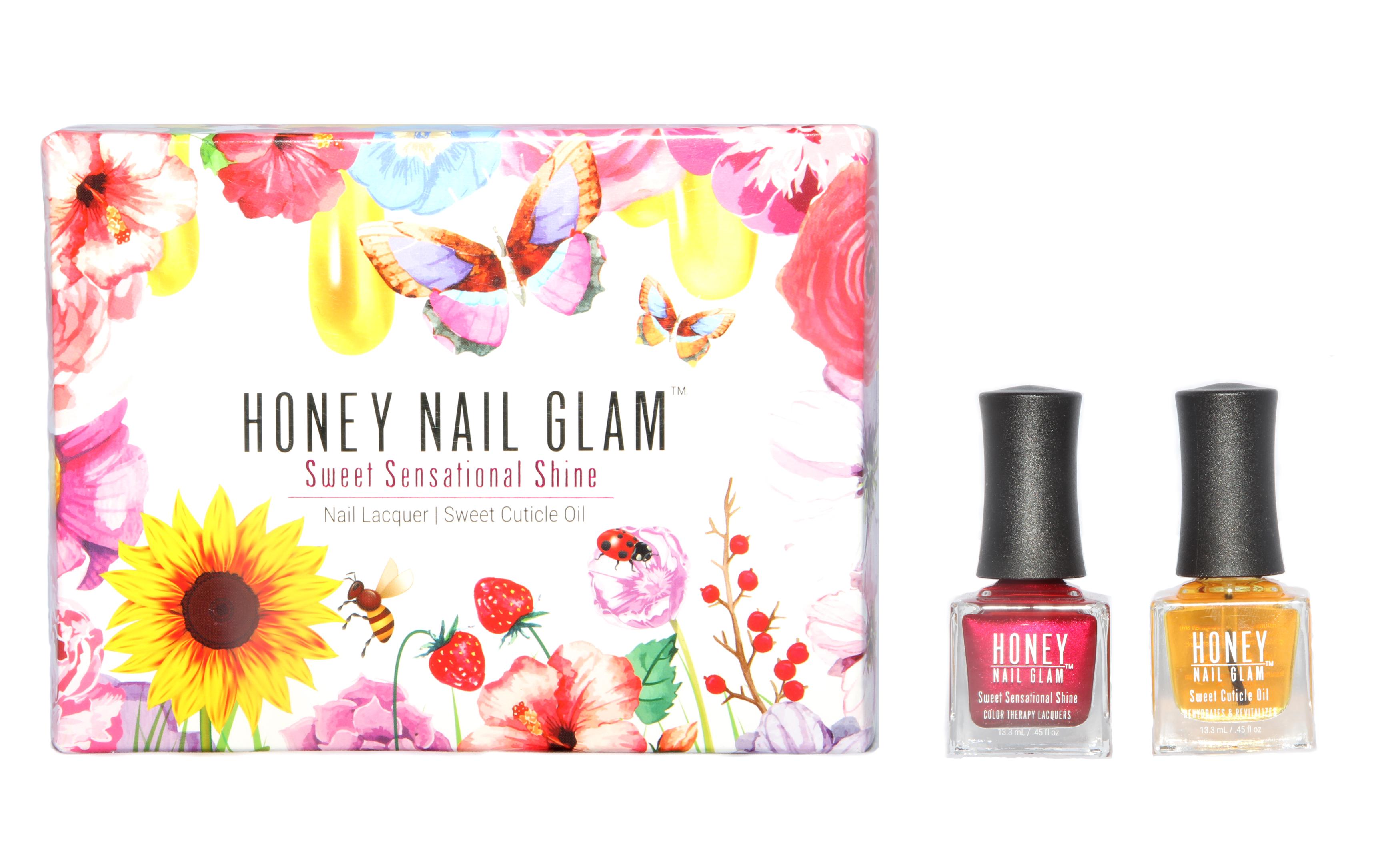 Fashion Week Gift Box Set - Honey Nail Glam Nail Care, Non-Toxic