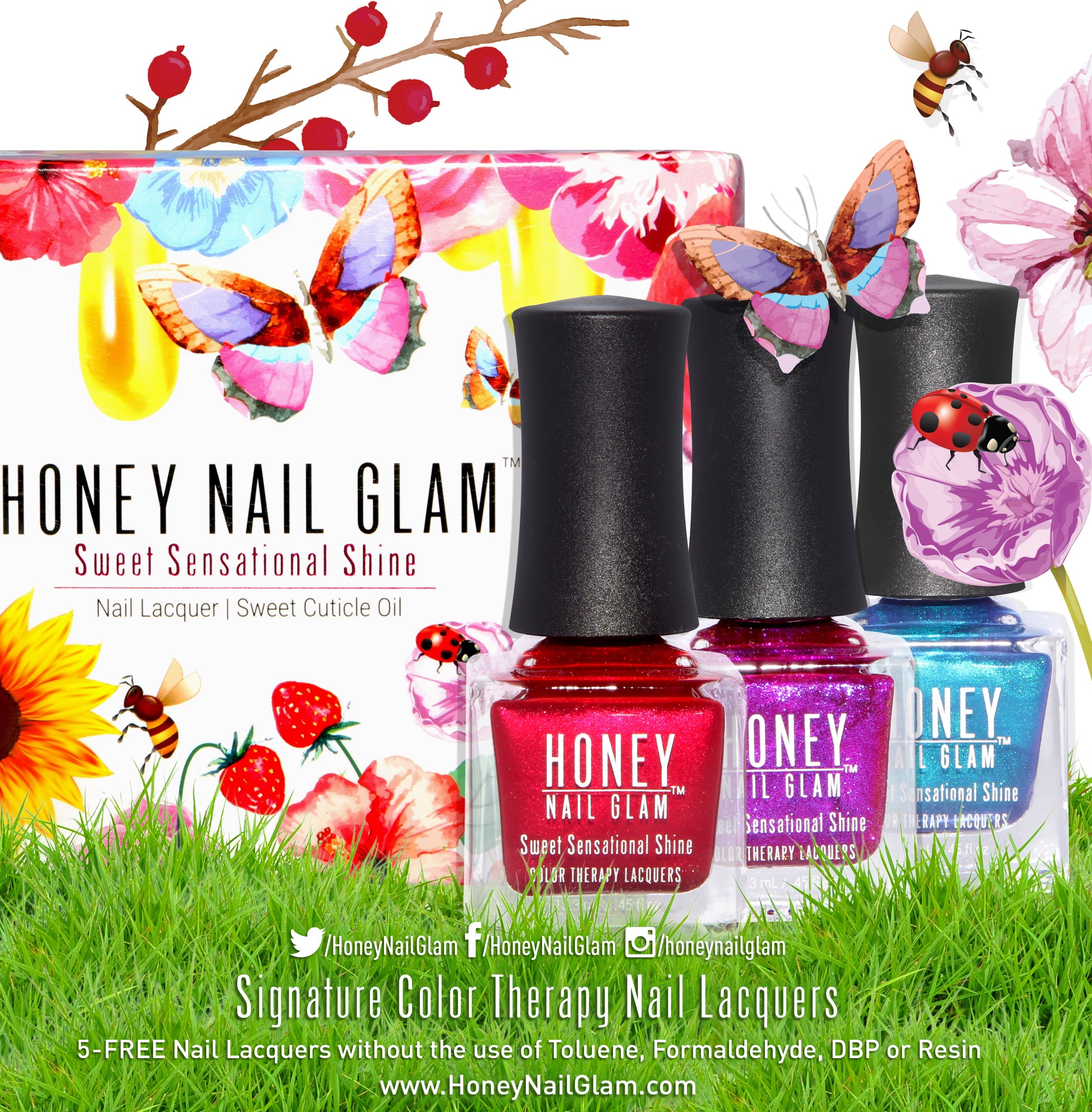 SWEET SENSATIONAL NAIL LACQUER GIFT BOXES TO GO - HoneyNailGlam Nail ...