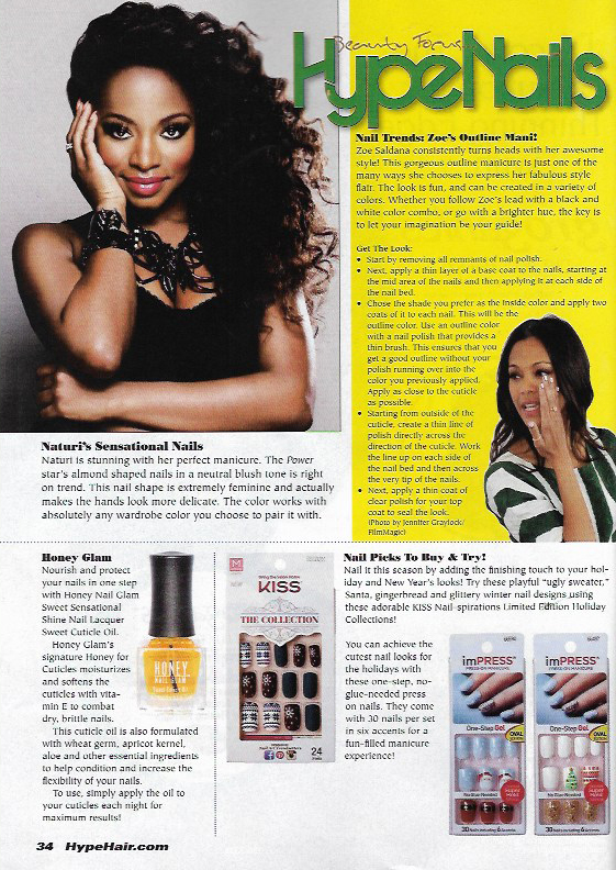 Sweet Cuticle Oil Featured In Hype Hair & Beauty magazine ...