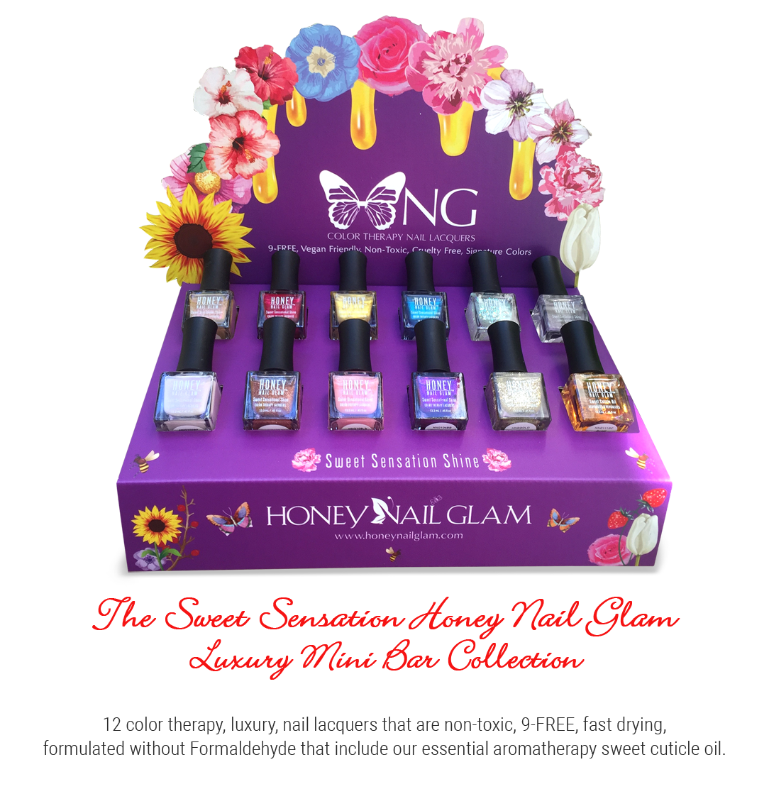 Honey Nail Glam Mini Bar Collection