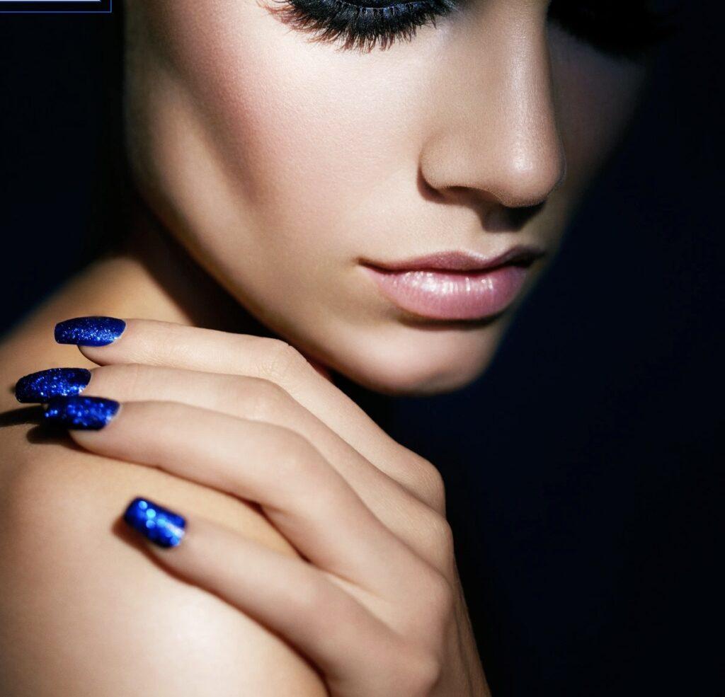 blue nail polish, news